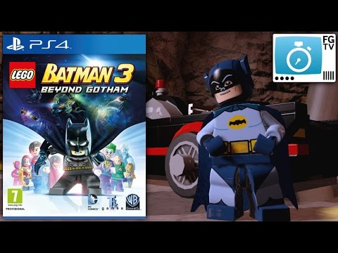 2 Minute Guide: Lego Batman 3 Beyond Gotham (PEGI 7+) - YouTube thumbnail