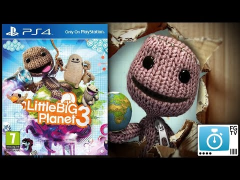 2 Minute Guide: LittleBigPlanet 3 (PEGI 7+) - YouTube thumbnail