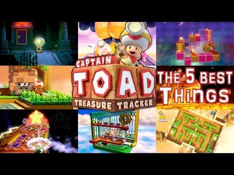 5 Best Things: Captain Toad Treasure Tracker - YouTube thumbnail