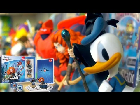 All Disney Infinity 2.0 Disney Originals Toys Un-boxed - YouTube thumbnail
