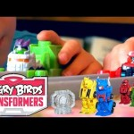 Angry Birds Transformers Toy Transformations - YouTube thumbnail
