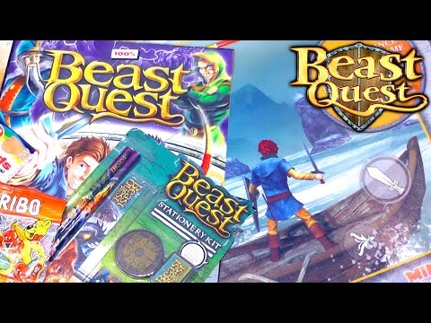 Beast Quest Magazine Review and iOS Game Sneak Peek - YouTube thumbnail