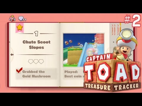 Let's Play Captain Toad: Treasure Tracker – Book 2 Toadette - YouTube thumbnail