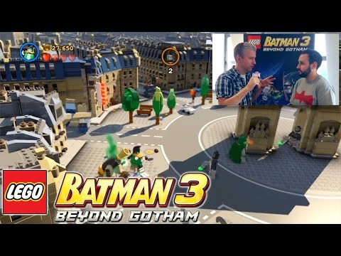 Let's Play Lego Batman 3 – In Studio with Phil Ring - YouTube thumbnail