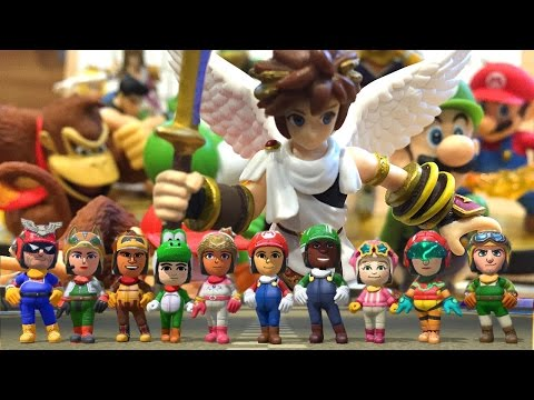 amiibo Wave 2 Characters Unboxed and Family Tested - YouTube thumbnail