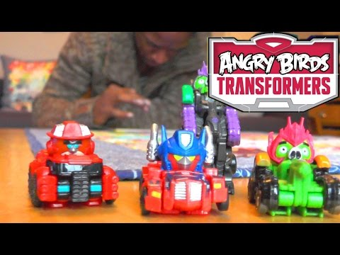 Angry Birds Transformers: BBC Presenter Tested from Toy Testers TV - YouTube thumbnail