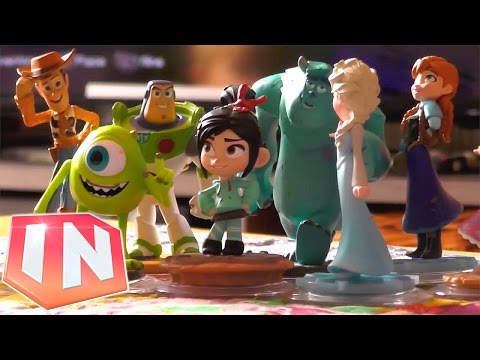 Disney Presenter Reacts to Disney Infinity 2.0 - YouTube thumbnail