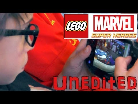 Lego Marvel Vita-PS4 Combo – Unedited Family Let's Play