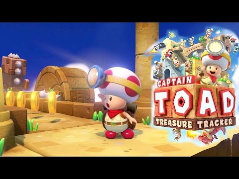 Let's Play 10 Minutes Captain Toad Treasure Tracker - YouTube thumbnail