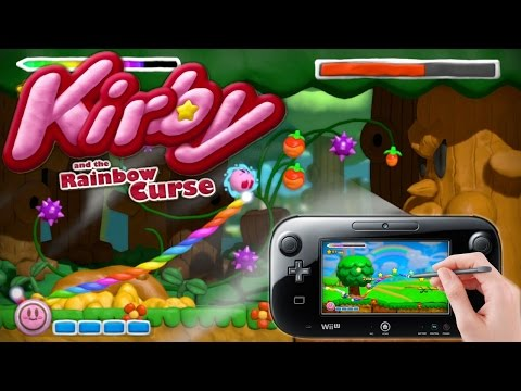 Let's Play 8 Minutes of Kirby and the Rainbow Curse - YouTube thumbnail