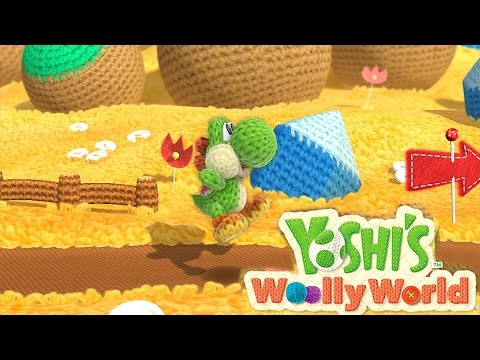 Let's Play 8 Minutes of Yoshi's Wooly World - YouTube thumbnail