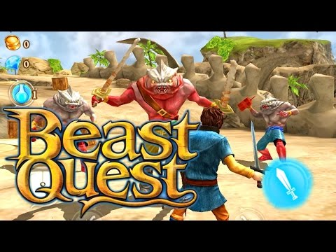 Let's Play Beast Quest with kids on iOS and Android - YouTube thumbnail