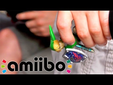 Super Smash Bros & amiibo Get Toy Tested - YouTube thumbnail