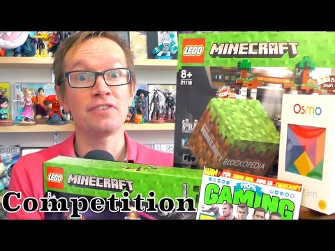 Win £300 of Minecraft, LEGO, Osmo and 110% Gaming - YouTube thumbnail
