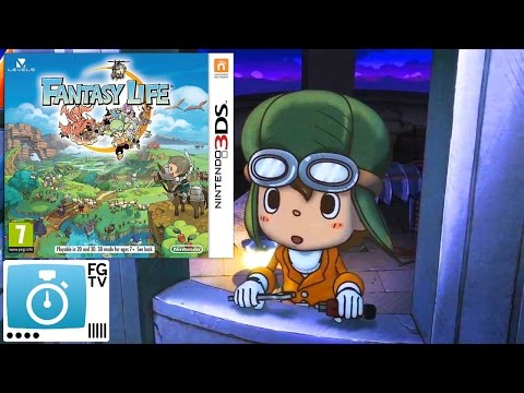 2 Minute Guide: Fantasy Life (PEGI 7+) - YouTube thumbnail
