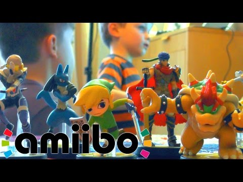 Boys Unbox Amiibo Wave 3 – Memory Test Unboxing Battle - YouTube thumbnail