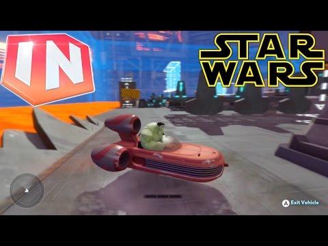 Disney Infinity 3.0: Star Wars – Landspeeder Sneak Peek (Wii U) - YouTube thumbnail