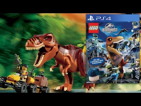 Lego Jurassic World – Video-Game Teaser Footage & Big-Fig Toys - YouTube thumbnail