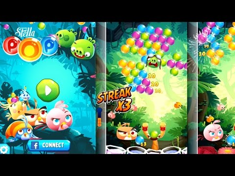 Let's Play Angry Birds Stella Pop (Part #1) - YouTube thumbnail