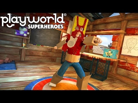 Let's Play Playworld Superheroes – (Part 1) First 25 Minutes - YouTube thumbnail
