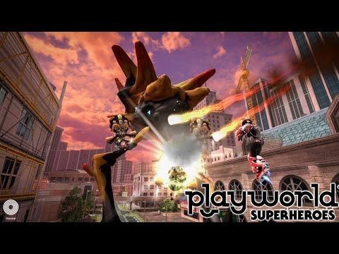 Let's Play Playworld Superheroes – (Part 3) Jet Boots and Free Flight - YouTube thumbnail