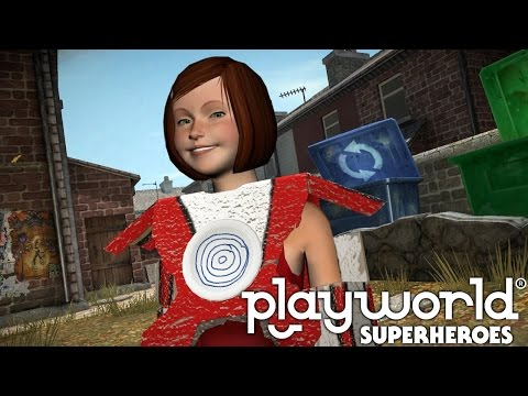 Let's Play Playworld Superheroes – (Part 4) Body Armour and Health Belt - YouTube thumbnail