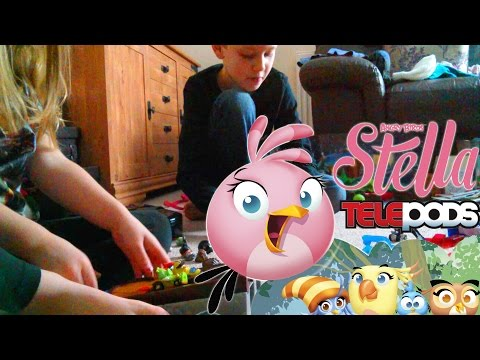 Updated! Angry Birds Stella – App and Toys - YouTube thumbnail