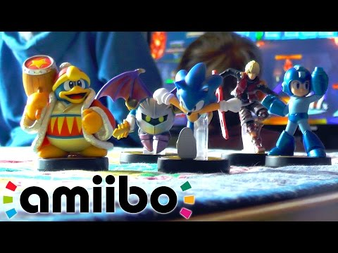 "amiibo Wave 3 Kids Unboxing ""Let's Race"" - YouTube thumbnail"