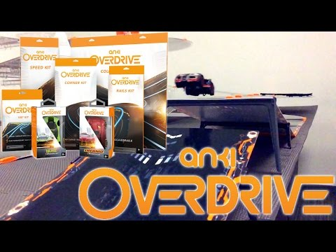Anki Overdrive – Launch Kit Unboxed - YouTube thumbnail
