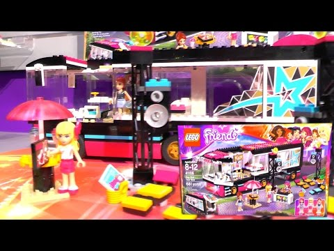 LEGO Friends 2015 Sets (New York Toy Fair) - YouTube thumbnail