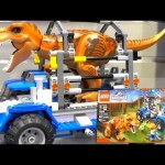 LEGO Jurassic World 2015 Sets (New York Toy Fair) - YouTube thumbnail