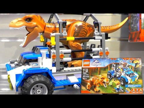 LEGO Jurassic World 2015 Sets (New York Toy Fair) - YouTube thumbnail