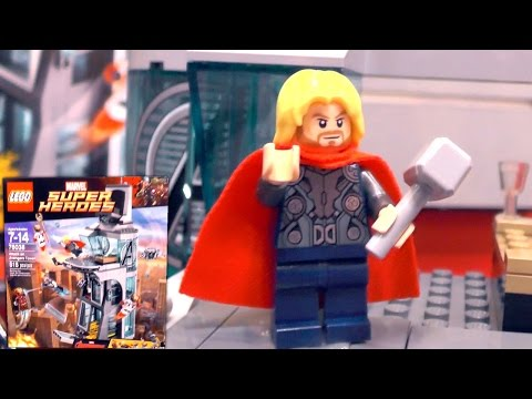 LEGO Marvel Age of Ultron & Ant-Man 2015 Sets Unboxed (New York Toy Fair) - YouTube thumbnail