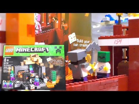 LEGO Minecraft 2015 Unboxed (New York Toy Fair)