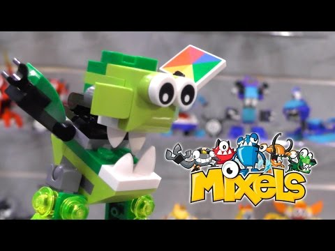 LEGO Mixels 2015 Series 4, Series 5 and Series 6 (New York Toy Fair) - YouTube thumbnail