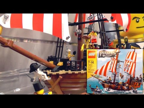 LEGO Pirates 2015 Sets – The Brick Bounty (New York Toy Fair) - YouTube thumbnail