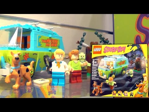 LEGO Scooby Doo 2015 (New York Toy Fair) - YouTube thumbnail