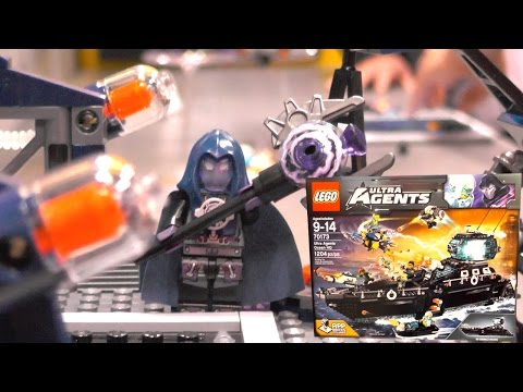 LEGO Ultra Agents 2015 Sets, Ocean HQ & iOS Game-Play (New York Toy Fair) - YouTube thumbnail