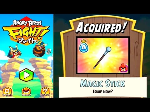 Let's Play Angry Birds Fight #2 – In App Purchases & New Weapons - YouTube thumbnail