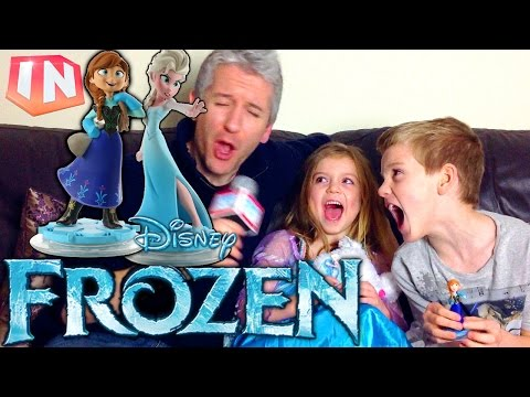 Let's Play Disney Infinity 2.0 New Frozen Adventure - YouTube thumbnail