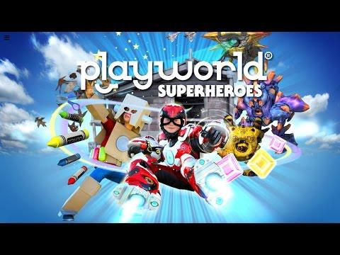 Let's Play Playworld Superheroes – (Part 5) Free Flight Unlocked - YouTube thumbnail