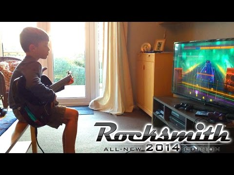 Let's Play Rocksmith 2014 – Win £310 Xbox One / PS4 Guitar and Fitness Games - YouTube thumbnail