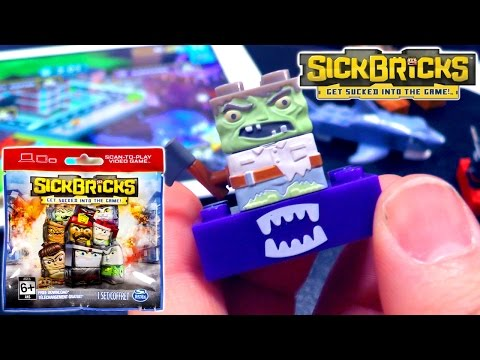 Let's Play Sick Bricks #1 Game-Play & Blind Bag Toy Opening - YouTube thumbnail