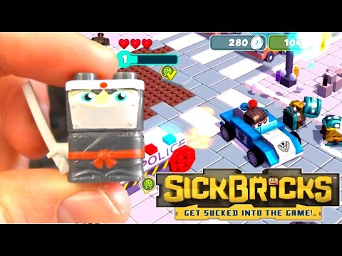 Let's Play Sick Bricks #2 – First 30 Minutes and Unboxing Toys - YouTube thumbnail