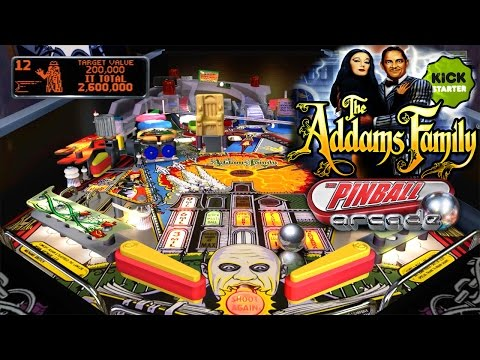 Let's Play The Addams Family, Pinball Arcade – 1080 HD Game-Play - YouTube thumbnail