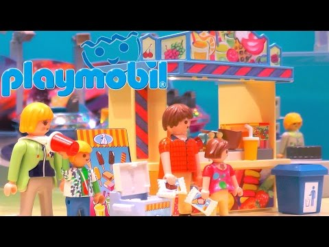 Playmobil 2015 Sets (Power, Lights, Water) – Luxury Mansion, Ferris Wheel, Castle, Coast Guard - YouTube thumbnail