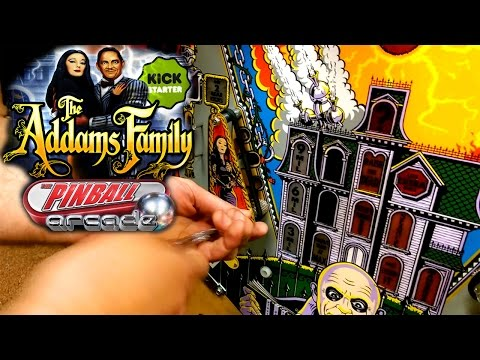 The Addams Family – Making Of Pinball Arcade Video-Game - YouTube thumbnail