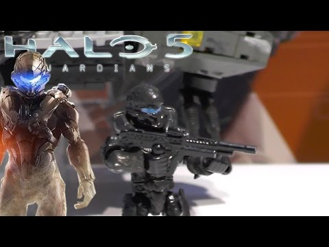Halo 5 Toys: New Needler and Agent Locke with Mega Bloks & Boomco - YouTube thumbnail