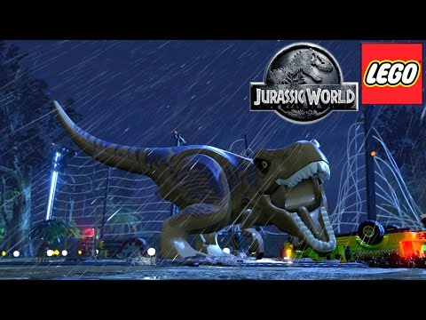 Lego Jurassic World Trailer and Toy Analysis - YouTube thumbnail