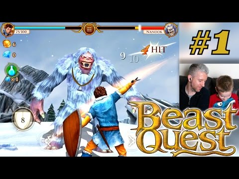 Let's Play Beast Quest – Part 1: First 20 Minutes in Avantia Hunting Nanook - YouTube thumbnail